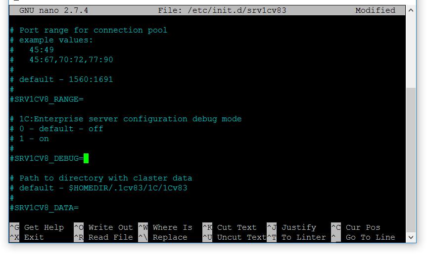 Отладка Linux 1С